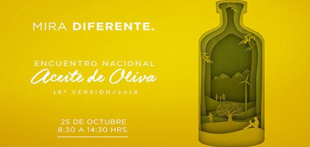 Chile organizará su Encuentro Nacional de Aceite de Oliva el próximo 25 de octubre