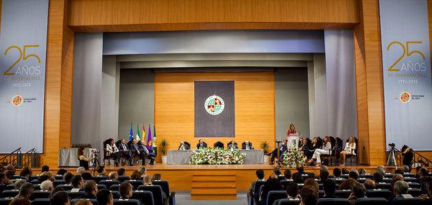 La Universidad de Jaén celebra el 25 aniversario de su creación