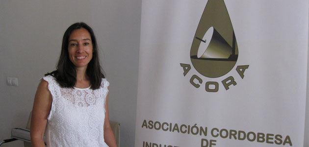 Belén Luque, nueva presidenta de la Asociación Empresarial de Almazaras Industriales de Córdoba