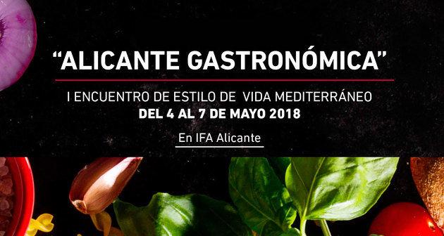 El aceite de oliva, presente en el I Encuentro de Estilo de Vida Mediterráneo-Alicante Gastronómica