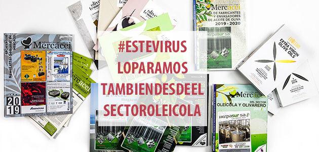#ESTEVIRUSLOPARAMOS también desde el sector oleícola