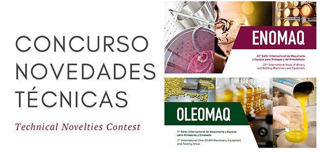 Últimos días para participar en el Concurso de Novedades Técnicas de Enomaq-Oleomaq 2019