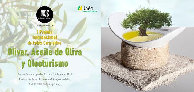 Abierto el plazo para votar los relatos presentados al I Premio Internacional de Relato Corto sobre Olivar, Aceite de Oliva y Oleoturismo