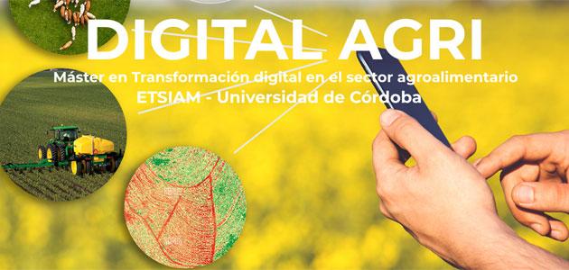 La UCO amplía su oferta formativa en transformación digital del sector agroalimentario