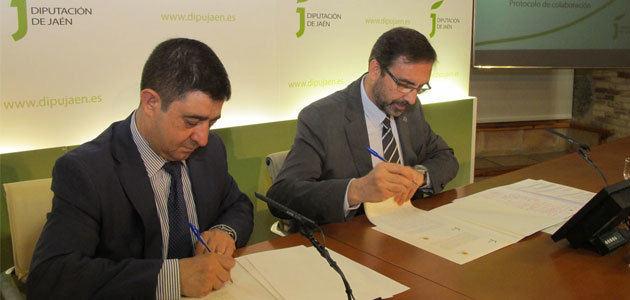 Diputación de Jaén y UJA, juntos en el fomento de la transferencia de conocimiento