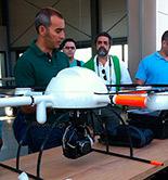 La era de los drones llega al olivar