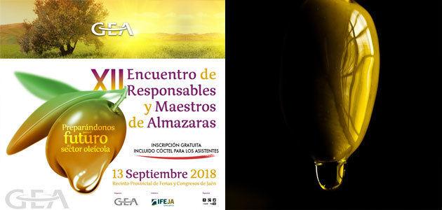 Abierta la inscripción para el XII Encuentro de Maestros y Responsables de Almazara de GEA
