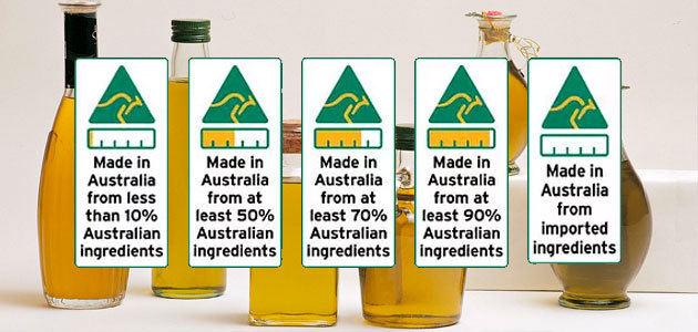 Australia lanza un nuevo sistema de etiquetado de alimentos que especifica su origen