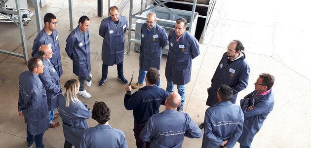 La formación a maestros de almazara de Evcata llega a la provincia de Tarragona