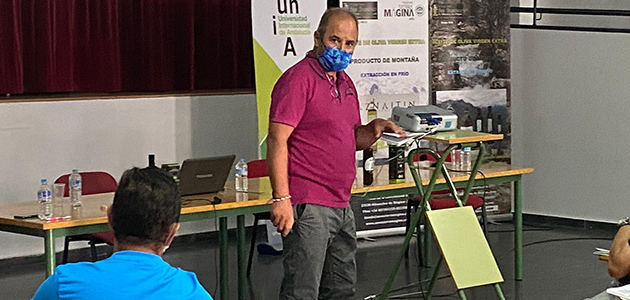 La UNIA acogerá una jornada de cata para maestros y operarios de almazara