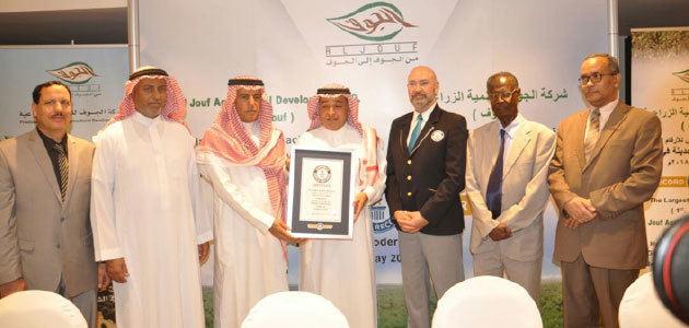 Una finca de olivos de Riad, en el Libro Guinness por ser la más grande del mundo