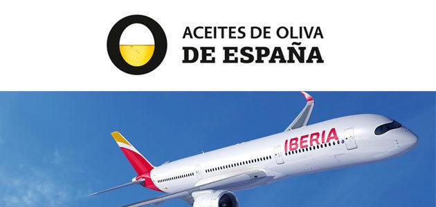 Iberia llevará Aceites de Oliva de España por todo el mundo