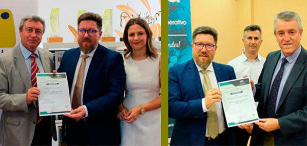 Interóleo y Jaencoop reciben la acreditación andaluza como Entidades Asociativas Prioritarias