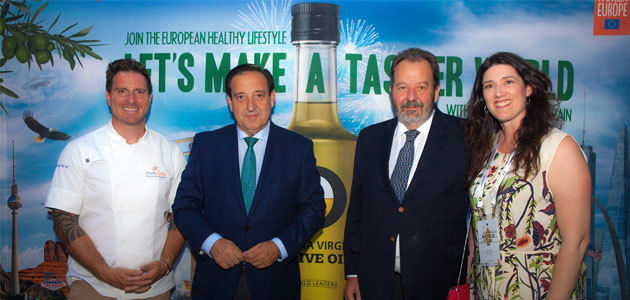 "El ""Olive Oil World Tour"" desembarca en Estados Unidos"