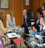 La Junta de Andalucía y Landaluz colaborarán en la promoción de productos agroalimentarios de marca