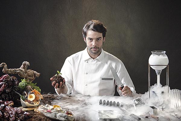 Javier Aranda, chef de La Cabra