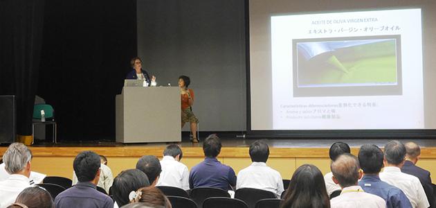 La isla japonesa de Shodoshima acoge un seminario para mejorar la calidad de su aceite de oliva