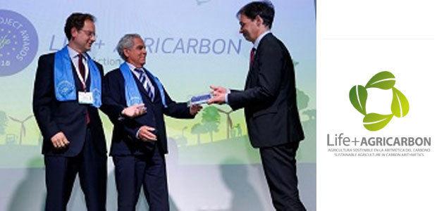 LIFE+Agricarbon, Mejor Proyecto LIFE por su lucha contra el cambio climático