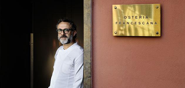 Grupo Editorial Mercacei entrevista en exclusiva a Massimo Bottura, chef nº1 del mundo