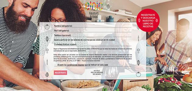 Jacoliva lanza una nueva web gastronómica en colaboración con Trevijano