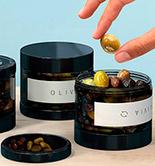 Un tarro para aceitunas, primer premio del Concurso de Vidrio y Creación de Verallia