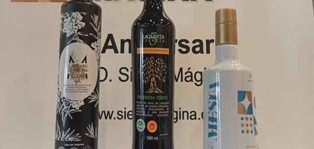 Santuario de Mágina, La Quinta Esencia y Señorío de Mesía Ecológico, premios Alcuza 2021 de la DOP Sierra Mágina
