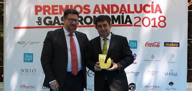La Diputación de Jaén recibe el Premio Andalucía de Gastronomía