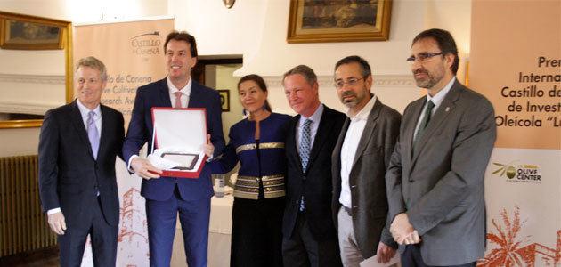 Entregado el IV Premio Internacional Castillo de Canena de Investigación Oleícola Luis Vañó