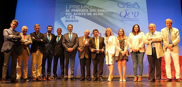 """El distintivo """"Jaén Selección"""" gana el I Premio GEA-AEMO al Fomento del Consumo de Aceite de Oliva"""