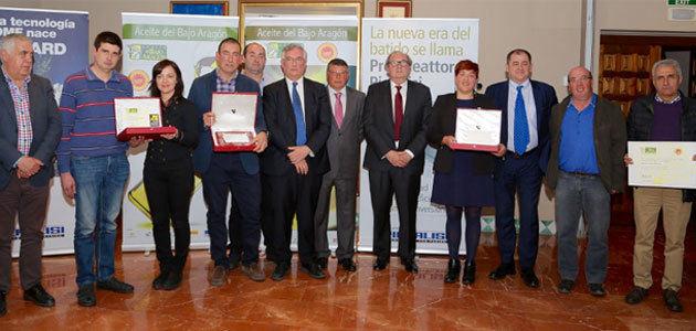 Fallados los Premios al Mejor Aceite del Bajo Aragón 2018