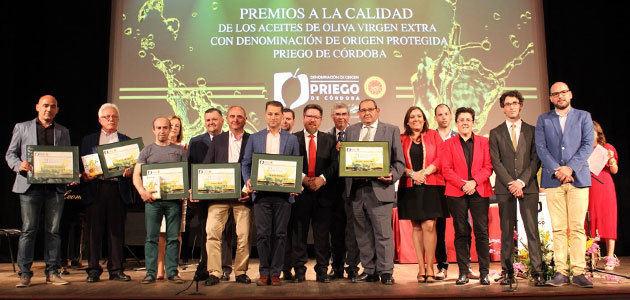 La DOP Priego de Córdoba se viste de gala para premiar sus AOVEs