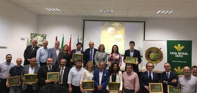 La Feria de Montoro concluyó con la entrega de premios su pulso al sector oleícola