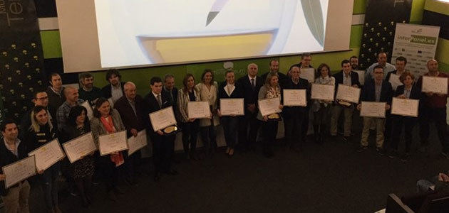 La entrega de los Premios Terra Oleum 2018 cerró el Foro por la Calidad