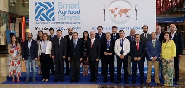 La gran cumbre europea de la agrotecnología cierra con éxito su primera edición
