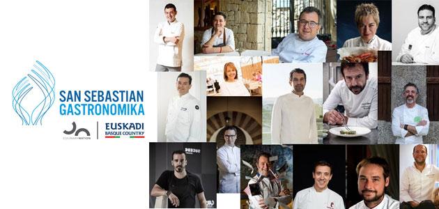 Una programación enriquecida para el 20 aniversario de San Sebastian Gastronomika