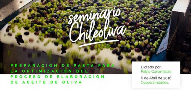 La preparación de la pasta para optimizar la producción de aceite de oliva, objeto del próximo seminario de Chileoliva