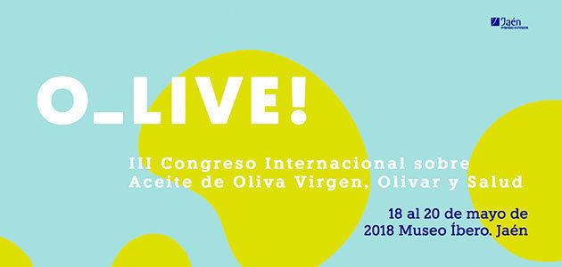 O_Live!, el congreso sobre AOVE y salud que convertirá a Jaén en referente científico internacional