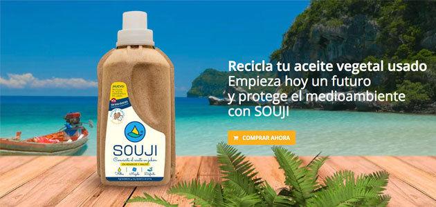 Souji, un revolucionario producto que convierte aceite usado en jabón líquido