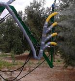 Investigadores de la UJA desarrollan un sistema de pulverización hidroneumática para la aplicación de productos fitosanitarios