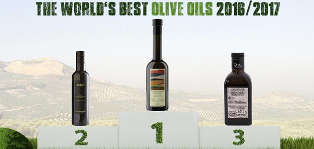 Almazaras de la Subbética, S.C.A. arrasa en la edición 2016/17 de 'World's Best Olive Oils'