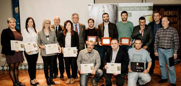 El Consejo Regulador de la DOP Aceite del Bajo Aragón entrega los galardones a sus mejores AOVEs