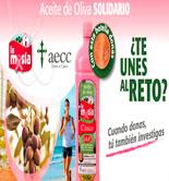'Aceite de Oliva Solidario', una iniciativa de La Masía y la AECC para luchar contra el cáncer de mama