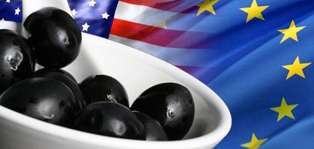 La Eurocámara reclama a EEUU retirar su veto a las aceitunas españolas