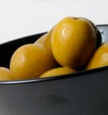 Huesos de aceituna para producir alimentos funcionales contra la hipertensión o el colesterol