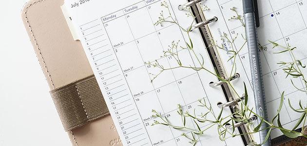 Prepara tu agenda para el segundo semestre del año