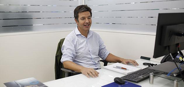 Francisco Hierro, gerente y director técnico de Laboratorio Agrama:
