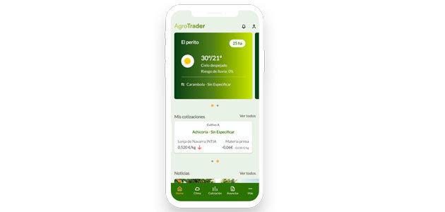 La app AgroTrader llevará a Expoliva la revolución digital agro