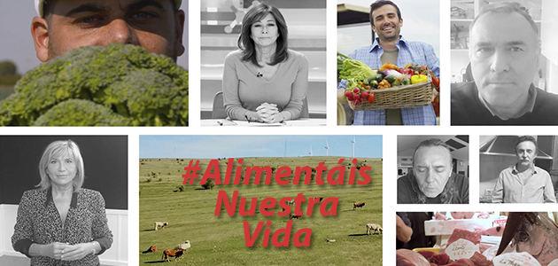 Julia Otero, Ana Rosa Quintana, Carlos Herrera y Susanna Griso agradecen el trabajo del sector agroalimentario