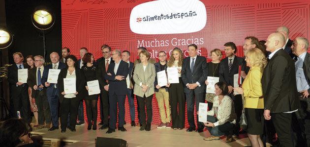 Los Premios Alimentos de España celebran su 30º aniversario