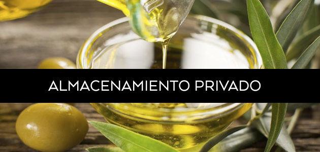 La UE aprueba la activación del almacenamiento privado de aceite de oliva